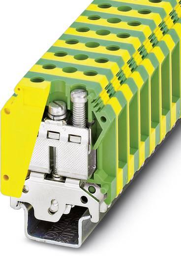 Phoenix Contact USLKG35-1 0449014 Dreistock-Schutzleiterklemme Polzahl: 2 0.75 mm² 35 mm² Grün-Gelb 25 St.