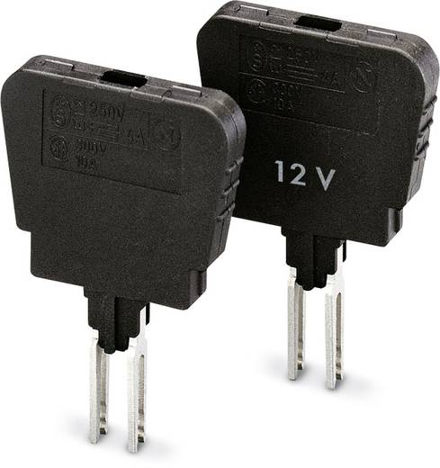 Sicherungsstecker ST-SILA250-UK 4 Schwarz Phoenix Contact 50 St.