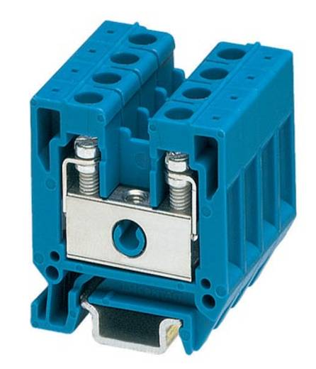 Phoenix Contact MBK 5/E BU 1415115 Durchgangsreihenklemme Polzahl: 2 0.2 mm² 4 mm² Blau 50 St.
