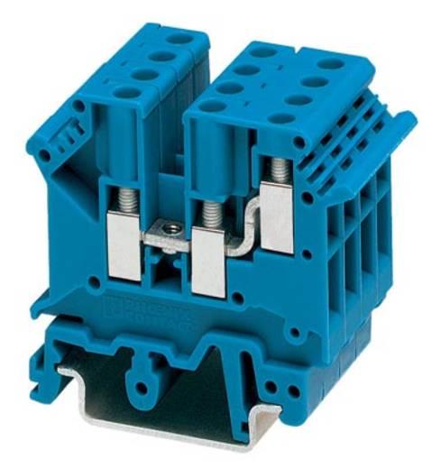 Phoenix Contact UK 5-TWIN BU 1923047 Durchgangsreihenklemme Polzahl: 3 0.2 mm² 4 mm² Blau 50 St.