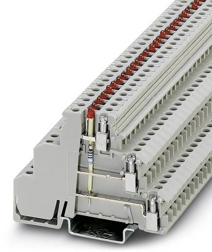 Phoenix Contact DIKD 1,5-LA 24RD/U-O 2716279 Initiatoren-/Aktorenklemme Polzahl: 6 0.2 mm² 2.5 mm² Grau 50 St.