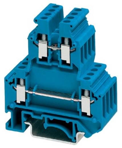 Phoenix Contact UKK 3 BU 2770095 Doppelstockklemme Polzahl: 4 0.2 mm² 2.5 mm² Blau 50 St.