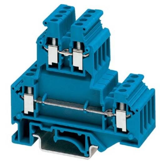 Phoenix Contact UKKB 3 BU 2771094 Doppelstockklemme Polzahl: 4 0.2 mm² 2.5 mm² Blau 50 St.