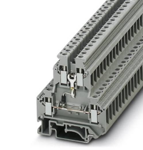 Phoenix Contact UKK 5-DIO/U-O 2791032 Durchgangsreihenklemme Polzahl: 4 0.2 mm² 4 mm² Grau 50 St.