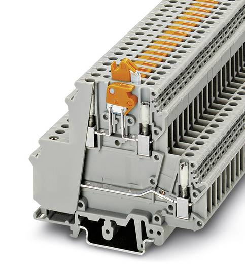 Phoenix Contact UKK 5-MTK-P/P 2800004 Durchgangsreihenklemme Polzahl: 4 0.2 mm² 4 mm² Grau 50 St.
