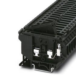 Istiace radová svorka Phoenix Contact UK 5-HESILED 24V- 2MA 3001006, 50 ks, čierna