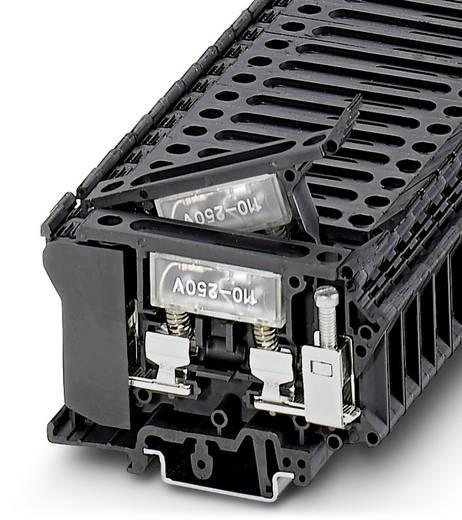 Sicherungsreihenklemme UK 6,3-HESILA 250 Schwarz Phoenix Contact 50 St.
