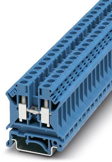 Phoenix Contact UK 6 N BU 3004977 Durchgangsreihenklemme Polzahl: 2 0.2 mm² 6 mm² Blau 50 St.