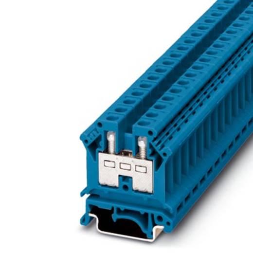 Phoenix Contact UK 10 BU 3005099 Durchgangsreihenklemme Polzahl: 2 0.5 mm² 6 mm² Blau 50 St.