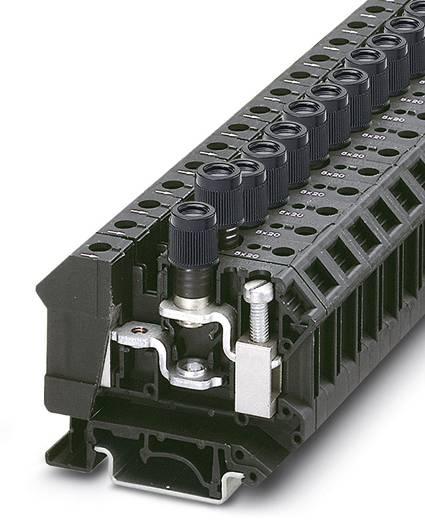 Phoenix Contact UK 10-DREHSI/K (5X25) 3005688 Sicherungsreihenklemme Polzahl: 2 0.5 mm² 16 mm² Schwarz 50 St.