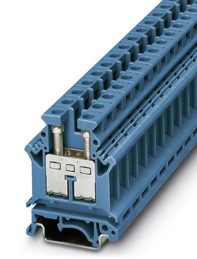 Phoenix Contact UK 16 BU 3006098 Durchgangsreihenklemme Polzahl: 2 0.5 mm² 10 mm² Blau 50 St.