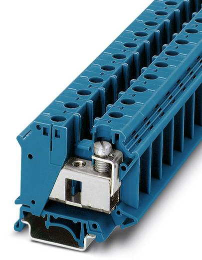 Phoenix Contact UIK 35 BU 3006302 Durchgangsreihenklemme Polzahl: 2 0.75 mm² 35 mm² Blau 50 St.