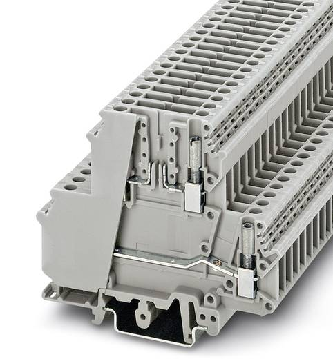 Phoenix Contact UKK 5-T 3007055 Durchgangsreihenklemme Polzahl: 4 0.2 mm² 4 mm² Grau 50 St.