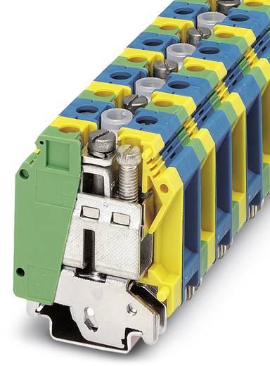 Phoenix Contact UK 35-PE/N 3008054 Installationsschutzleiterklemme Polzahl: 4 0.75 mm² 35 mm² Grün-Gelb, Blau 10 St.
