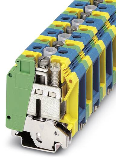 Schutzleiter-Reihenklemme UK 35-1-PE/N Grün-Gelb Phoenix Contact 10 St.
