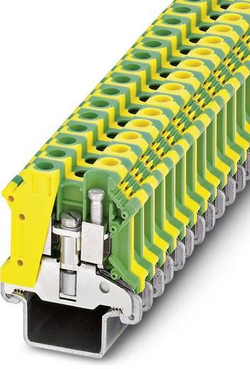 Schutzleiter-Reihenklemme USLKG10 N-1 Grün-Gelb Phoenix Contact 50 St.