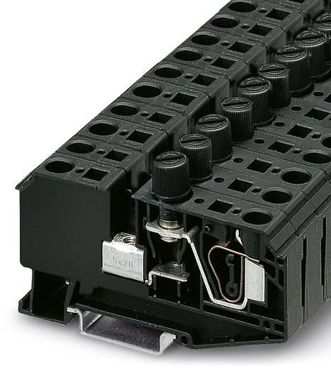 Phoenix Contact ZFK 6-DREHSI (5X20) 3025040 Sicherungsreihenklemme Polzahl: 2 0.5 mm² 6 mm² Schwarz 25 St.