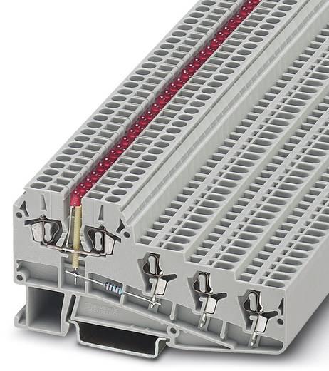 Phoenix Contact ZVIOK 1,5-LA 24GN/O-MO 3006519 Durchgangsreihenklemme Polzahl: 5 0.14 mm² 1.5 mm² Grau 50 St.