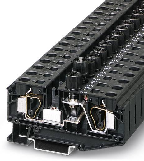 Phoenix Contact ZFK 6-DREHSILED 24 (6,3X32) 3025587 Sicherungsreihenklemme Polzahl: 2 0.5 mm² 6 mm² Schwarz 25 St.