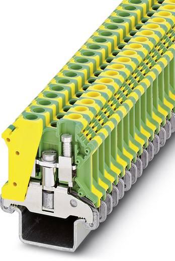 Schutzleiter-Reihenklemme USLKG 6 N-1 Grün-Gelb Phoenix Contact 50 St.