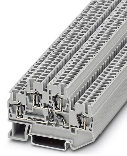 Phoenix Contact STTB 2,5-2DIO/O-UL/O-UR 3031597 Bauelementreihenklemme Polzahl: 4 0.08 mm² 2.5 mm² Grau 50 St.