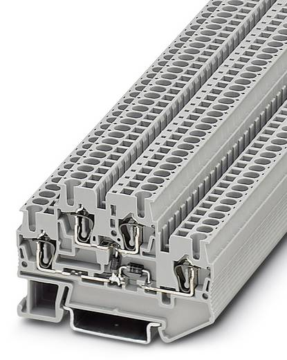 Phoenix Contact STTB 2,5-2DIO/O-UL/UR-UL 3031584 Bauelementreihenklemme Polzahl: 4 0.08 mm² 2.5 mm² Grau 50 St.