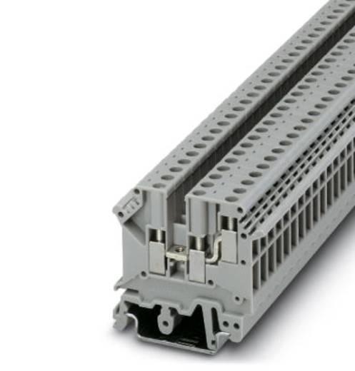 Phoenix Contact UK 5-TWIN BK 3048535 Durchgangsreihenklemme Polzahl: 3 0.2 mm² 4 mm² Schwarz 50 St.