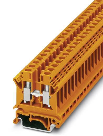 Phoenix Contact UK 6 N OG 3003305 Durchgangsreihenklemme Polzahl: 2 0.2 mm² 6 mm² Orange 50 St.