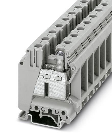 Phoenix Contact UK 35-IB 3008009 Durchgangsreihenklemme Polzahl: 2 0.75 mm² 35 mm² Grau 50 St.