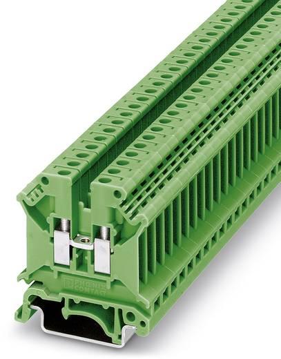 Phoenix Contact UK 5 N GN 3003965 Durchgangsreihenklemme Polzahl: 2 0.2 mm² 4 mm² Grün 50 St.