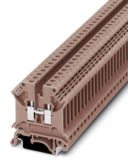 Phoenix Contact UK 5 N BN 3007330 Durchgangsreihenklemme Polzahl: 2 0.2 mm² 4 mm² Braun 50 St.
