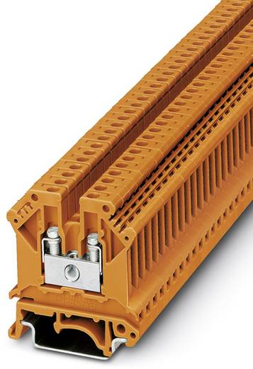 Phoenix Contact UK 3 N OG 0719113 Durchgangsreihenklemme Polzahl: 2 0.2 mm² 2.5 mm² Orange 50 St.