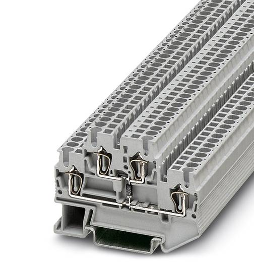 Bauelementreihenklemme STTB 2,5-R499/O-U Grau Phoenix Contact 50 St.