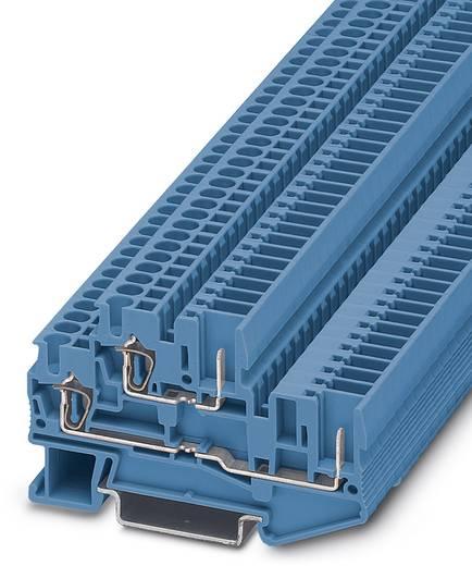 Phoenix Contact STTB 2,5/2P BU 3040672 Doppelstockklemme Polzahl: 4 0.08 mm² 2.5 mm² Blau 50 St.