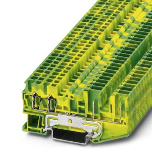 Schutzleiter-Reihenklemme ST 2,5-QUATTRO/2P-PE Grün-Gelb Phoenix Contact 50 St.