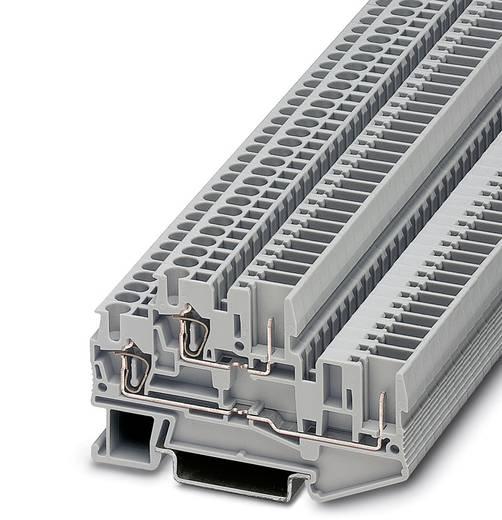 Doppelstock-Klemme STTB 2,5/2P Grau Phoenix Contact 50 St.