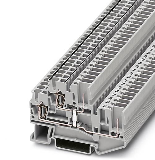 Phoenix Contact STTB 2,5/2P-PV 3040070 Doppelstockklemme Polzahl: 4 0.08 mm² 2.5 mm² Grau 50 St.