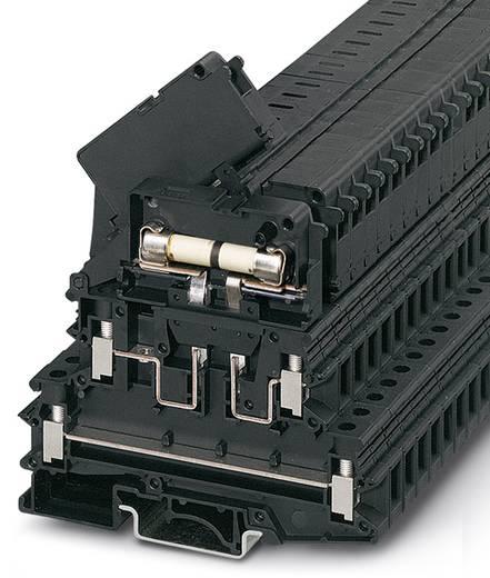 Phoenix Contact UKK 5-HESILED 24 (6,3X32) 0711632 Sicherungsreihenklemme Polzahl: 4 0.2 mm² 4 mm² Schwarz 50 St.