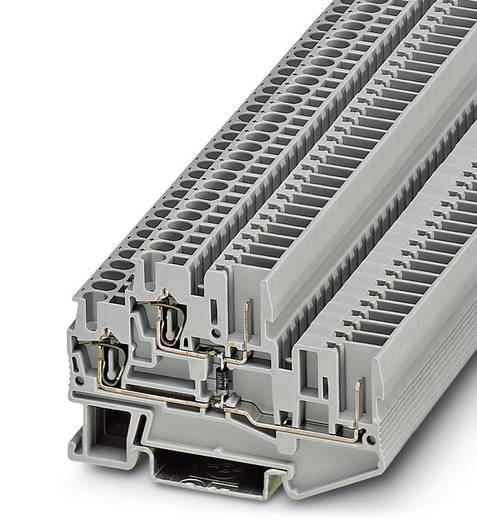 Doppelstock-Klemme STTB 2,5/2P-DIO/O-U Grau Phoenix Contact 50 St.