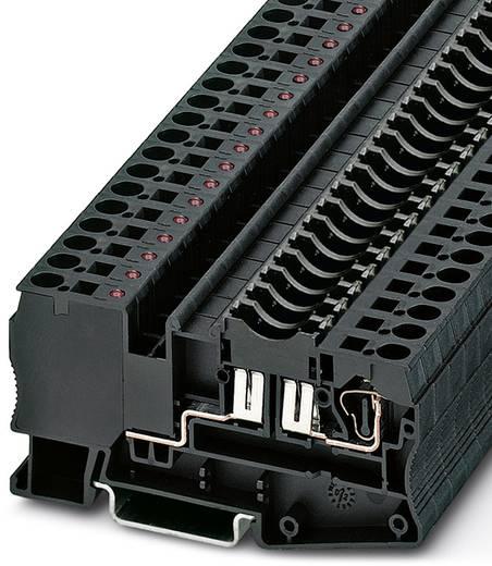 Sicherungsreihenklemme ST 4-FSI/C-LED 12 Schwarz Phoenix Contact 50 St.