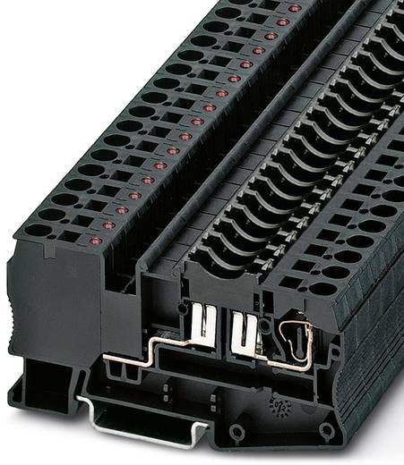 Sicherungsreihenklemme ST 4-FSI/C-LED 24 Schwarz Phoenix Contact 50 St.
