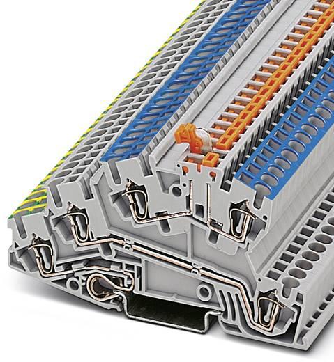 Phoenix Contact STI 2,5-PE/L/NTB 3038642 Installationsschutzleiterklemme Polzahl: 5 0.08 mm² 4 mm² Grau 50 St.