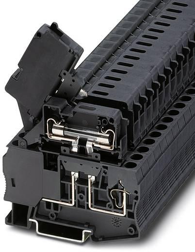 Sicherungsreihenklemme ST 4-HESILED 24 (6,3X32) Schwarz Phoenix Contact 50 St.