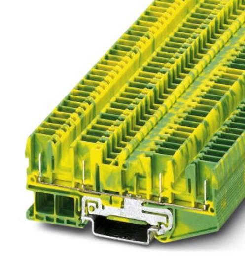 Schutzleiter-Reihenklemme ST 2,5-QUATTRO/4P-PE Grün-Gelb Phoenix Contact 50 St.