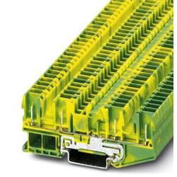 Svorka ochranného vodiča Phoenix Contact ST 2,5-QUATTRO/4P-PE 3042162, 50 ks, zelená, žltá