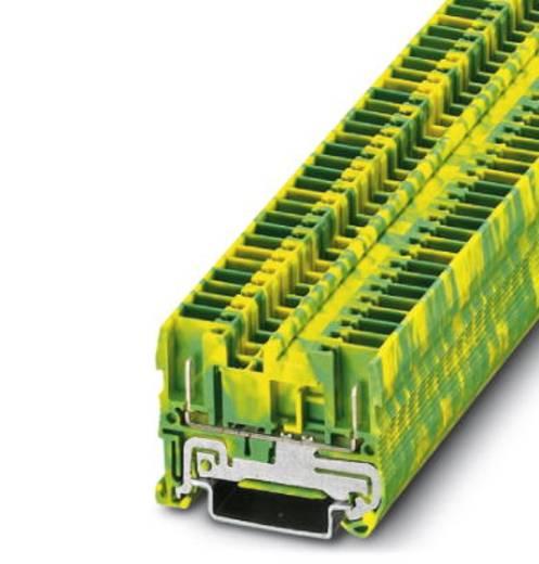 Phoenix Contact ST 2,5/2P-PE 3042146 Schutzleiterklemme Polzahl: 2 0.08 mm² 2.5 mm² Grün-Gelb 50 St.