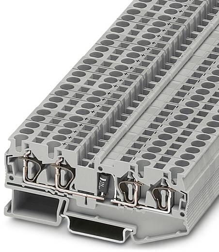 Bauelementreihenklemme ST 4-QUATTRO-DIO 1N 5408/R-L Grau Phoenix Contact 50 St.