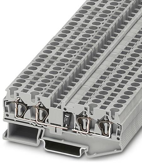 Bauelementreihenklemme ST 4-QUATTRO-DIO 1N 5408/L-R Grau Phoenix Contact 50 St.