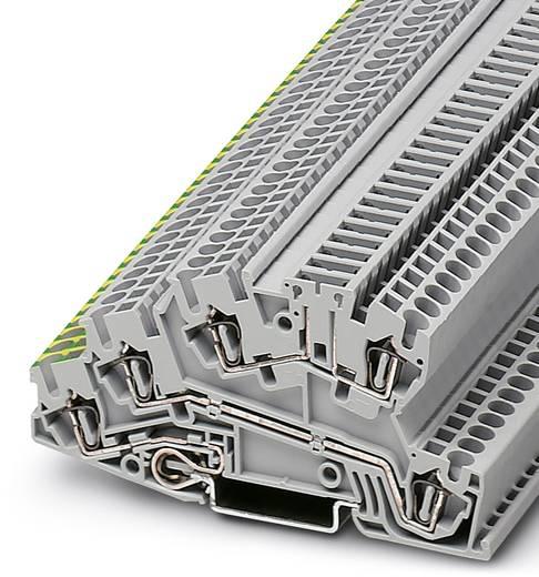 Phoenix Contact STI 2,5-PE/L/TG 3039942 Installationsschutzleiterklemme Polzahl: 5 0.08 mm² 4 mm² Grau 50 St.