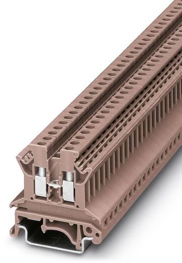 Phoenix Contact UK 2,5 N BN 0719252 Durchgangsreihenklemme Polzahl: 2 0.2 mm² 2.5 mm² Braun 50 St.